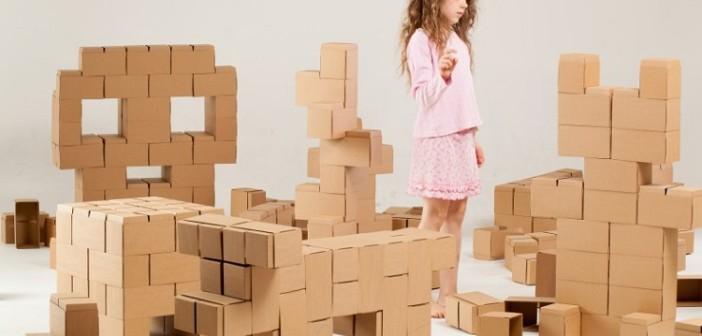 Stavebnice GIGI Bloks – obrie kartónové lego