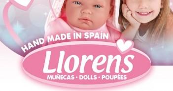 Hovoriace bábiky Llorens s mäkkým látkovým telom