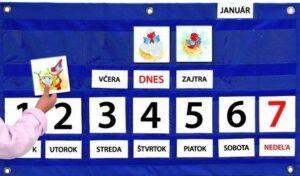 Školský týždenný kalendár