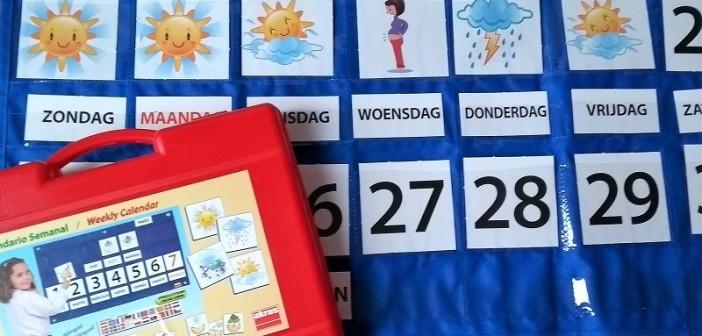 Školský týždenný kalendár v slovenčine