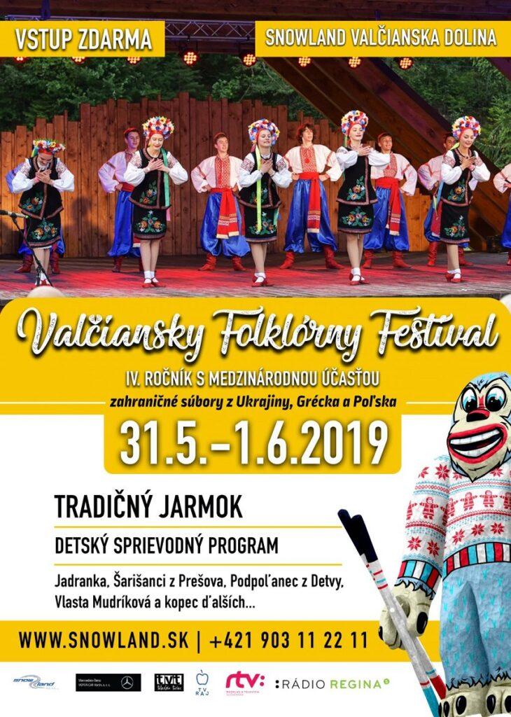 4.ročník viacgeneračného Valčianskeho folklórneho festivalu