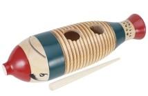 Základy hry na latinskoamerické perkusie Guiro