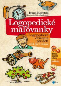 Logopedické maľovanky Ivana Novotná Edika