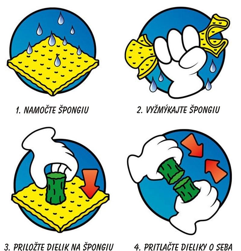 Dieliky sú vyrobené z rozložiteľných prírodných materiálov