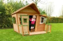 Zahradné drevené domčeky AXI pre deti