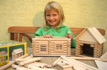 VARIO drevená skladacia stavebnica
