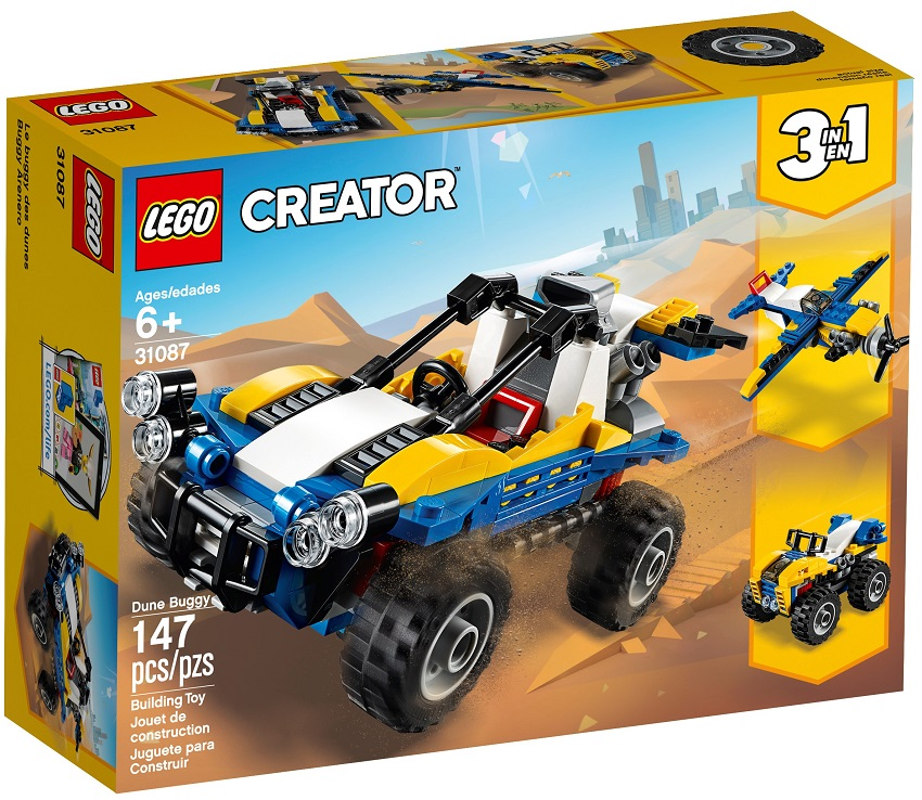 Lego Creator 31087 Púštna bugina 3v1, 147 ks