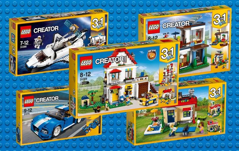 LEGO Creator 3 v 1