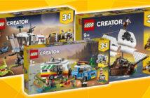 LEGO Creator rozvíja kreatívne myslenie