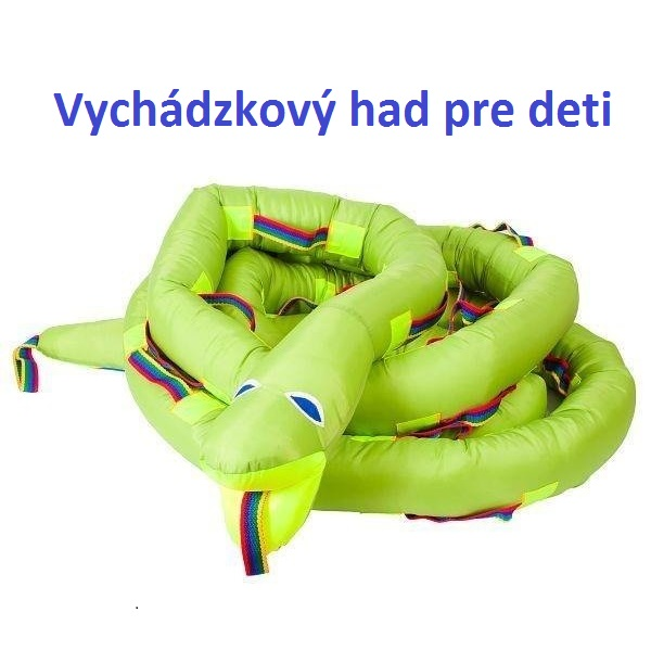 Vychádzkový had pre deti