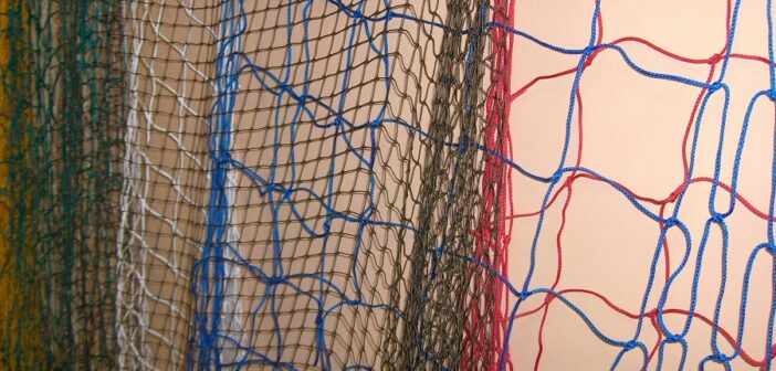 Dekoračné siete - jednoduchá dekorácia