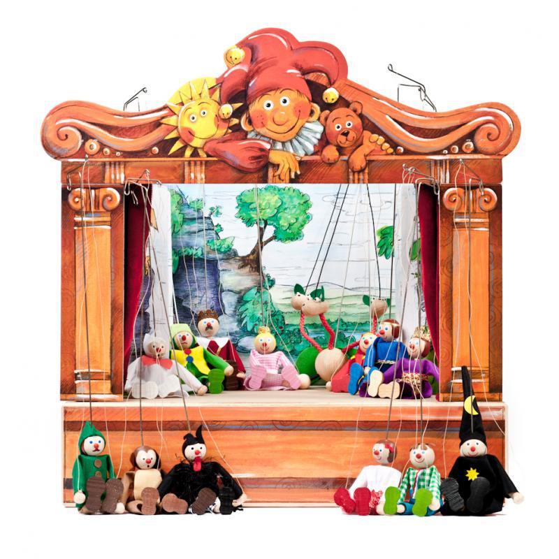 Gerlichove bábkové MAXI divadlo, 14 bábok