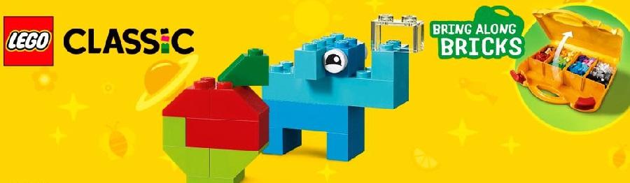 Kľúčové vlastnosti LEGO Classic 10713 Kreatívny kufrík