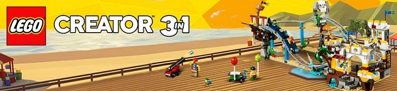 LEGO Creator predstavuje výzvu v podobe 3 modelov v 1 stavebnici