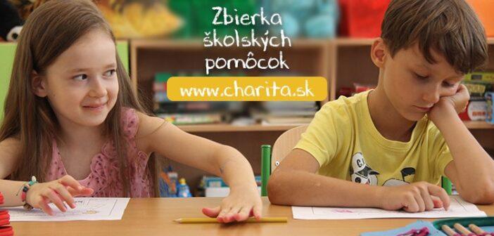Zbierka školských pomôcok, Charita 2020