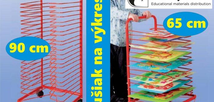Sušiaky na výkresy – praktické, pevné a prenosné stojany