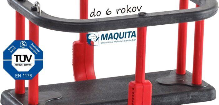 Hojdačka sedačka Basic do 6 rokov, EN1176
