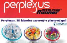 Hlavolam Perplexus, 3D labyrint uzavretý v priehľadnej plastovej guli