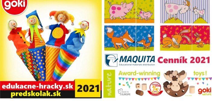 Kompletný katalóg drevených hračiek GOKI 2021