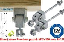 Klbový záves Premium pozink M12x160 mm, EN1176