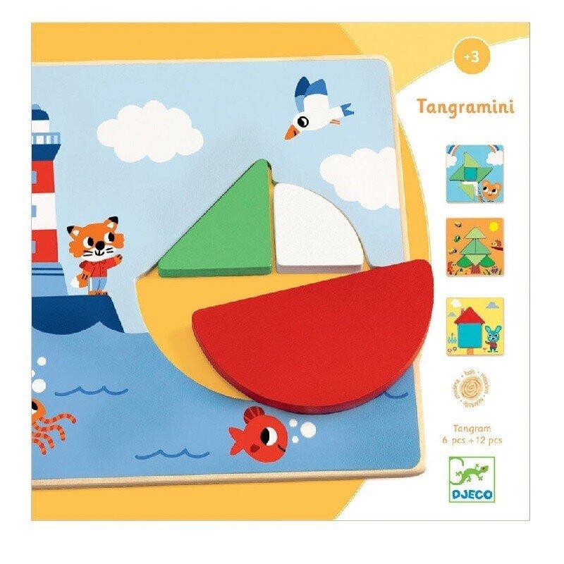 Djeco Tangramini - drevený edukatívny tangram