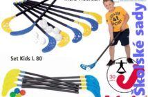 Školská športová florbalová sada pre detí