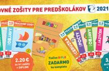 Predaj – pracovné zošity 2021-2022 pre materské školy