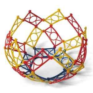Školská plastová 3D stavebnica Zábradlia, 320 ks
