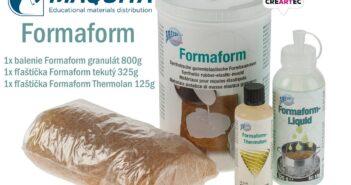 Formaform - elastická forma, pre väčšinu odlievacich materiálov