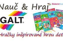 Galt – hračky inšpirované hrou detí