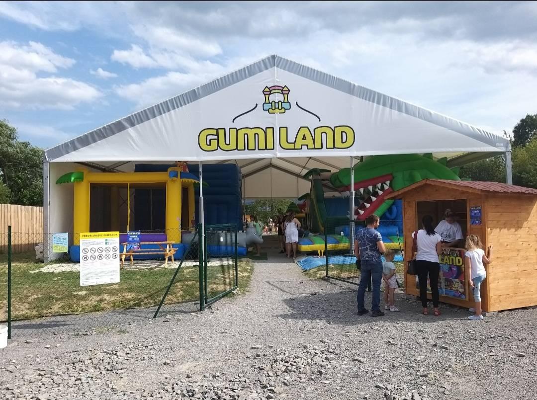 Gumi land Bojnice je správne miesto pre zábavu