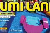 Gumi land Bojnice, zabavný park nafukovacich atrakcií