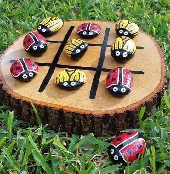 Zahraj si piškvorky s lienkami
