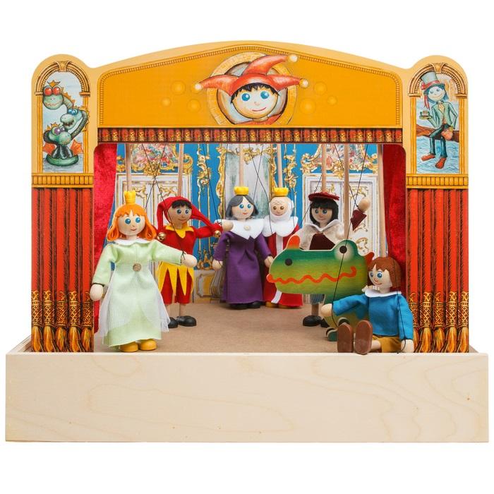 Bábkové divadlo Mašek- 3 kráľovské rozprávky