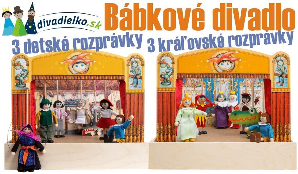 Bábkové divadlo Mašek - 3 rozprávky