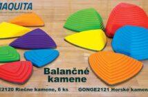 Balančné kamene pomáhajú pri rozvoji koordinácie, rovnováhy