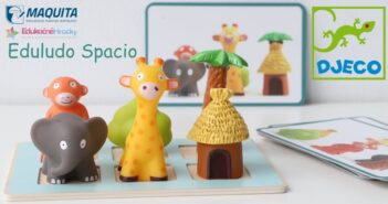 Djeco Eduludo Spacio - hra s priestorom pre predškolákov