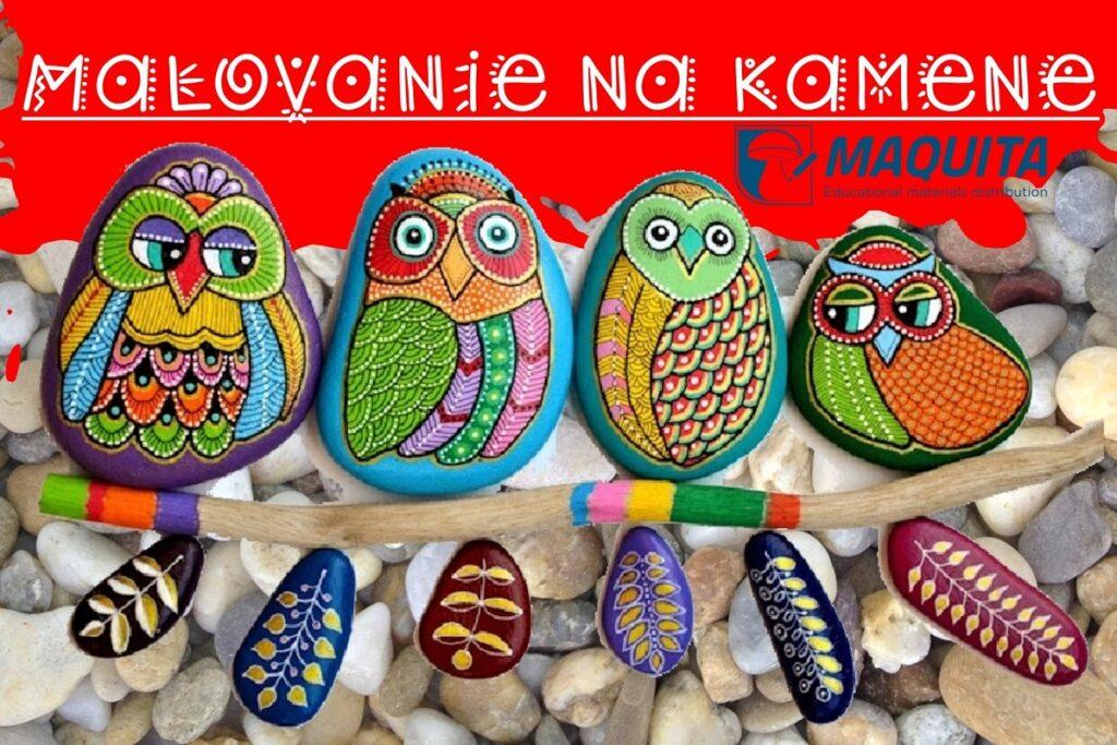 Maľovanie na kamene pre kreatívne deti