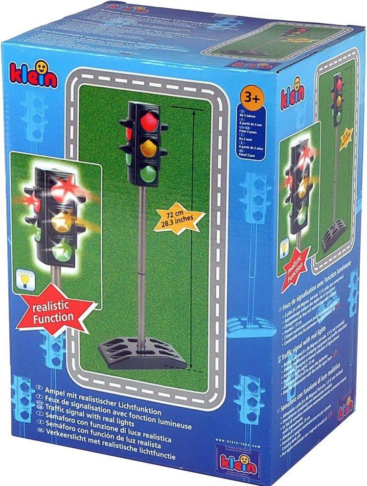 KLEIN2990 Školský dopravný signalizačný semafor, 72cm