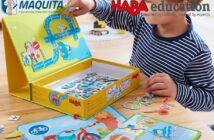 Magnetické skladačky Haba education pre didaktické príbehy