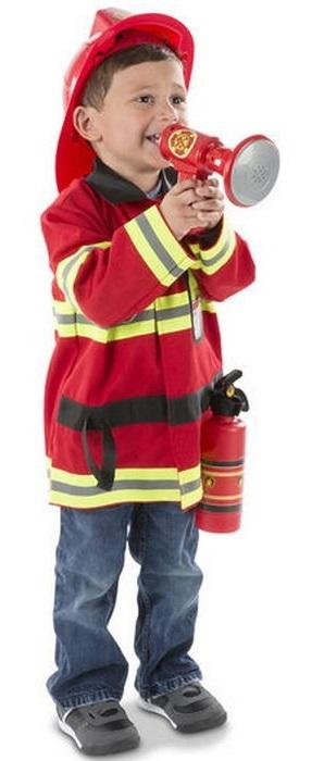 Melissa & Doug - Kompletný kostým - Požiarnik - hasič