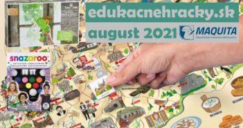 Najpredávanejšie hry a edukačné hračky august 2021