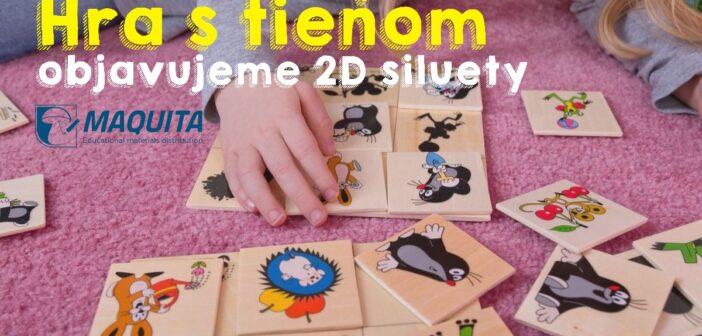 Objavujeme 2D siluety a hra s tieňom pre deti